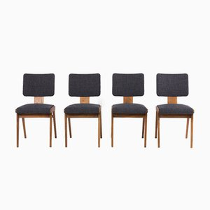 Dining Chairs by André Sornay, 1950s, Set of 4