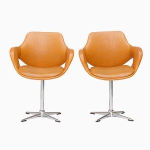 Sedie girevoli di Mobilier Modulaire Moderne, anni '70, set di 2