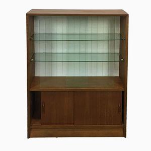 Teak Display Cabinet, 1970s