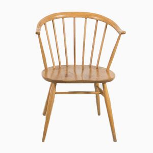 Vintage Cowhorn Chair by Lucian Ercolani for Ercol