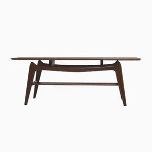 Table Basse en Teck par Louis van Teeffelen pour WeBe, 1950s