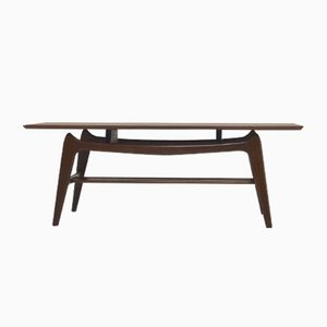 Teak Coffee Table by Louis van Teeffelen for WeBe, 1950s
