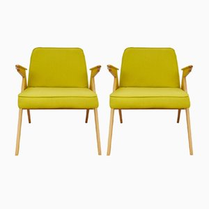300-177 Armchairs from Furniture Factory Świebodzice, 1960s, Set of 2