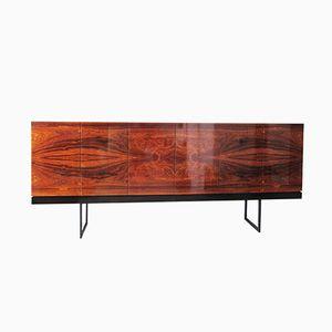 Large Mid-Century Minimalist Rosewood Sideboard