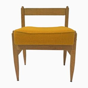 Vintage Side Chair by Guillerme Et Chambron for Votre Maison