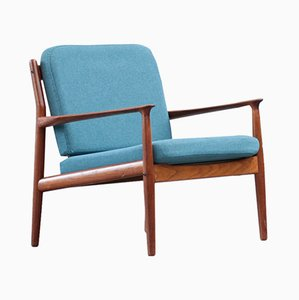 Danish Armchair by Grete Jalk for Glostrup, 1960s