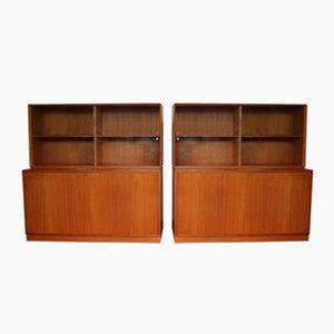Vintage Display Cabinets by Bertil Fridhagen for Bodafors, 1962, Set of 2