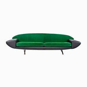 Model Capri Boomerang Sofa by Johannes Andersen for AB Trensums Fåtöljfabrik, 1958