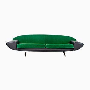 Modell Capri Boomerang Sofa von Johannes Andersen für AB Trensums Fåtöljfabrik, 1958