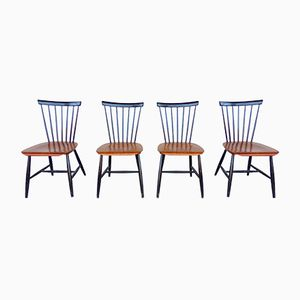 Mid-Century Chairs by Ilmari Tapiovaara, Set of 4
