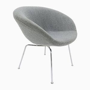 Danish Pot Chair by Arne Jacobsen for Fritz Hansen, 1950s