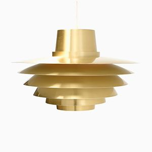 Mid-Century Verona Pendant Light by Svend Middelboe for Nordisk Solar