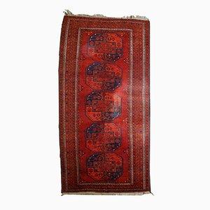 Handgeknüpfter Afghanischer Vintage Ersari Teppich, 1950er