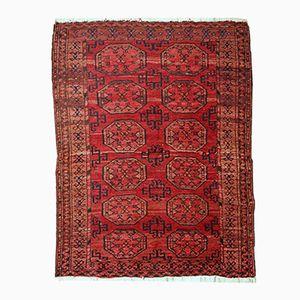 Antiker Handgeknüpfter Afghanischer Ersari Teppich, 1910er
