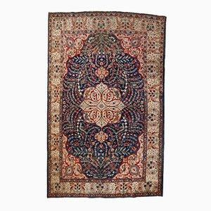Handmade Persian Tabriz Rug, 1920s