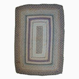 Handgeflochtener Amerikanischer Teppich, 1960er