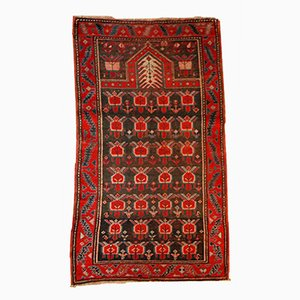 Antiker Handgeknüpfter Kaukasischer Karabagh Teppich, 1890er