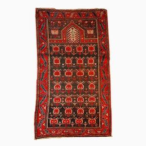 Antique Handmade Caucasian Karabagh Rug, 1890s