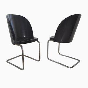 Bugholz B248 Stühle von Thonet, 1930er, 2er Set