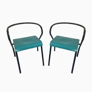 Vintage Chairs by Jacques Hitier for Mullca, Set of 2