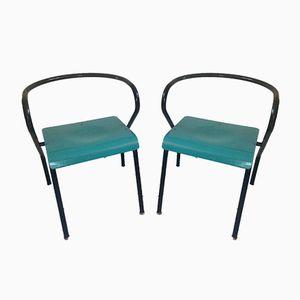 Vintage Stühle von Jacques Hitier für Mullca, 2er Set