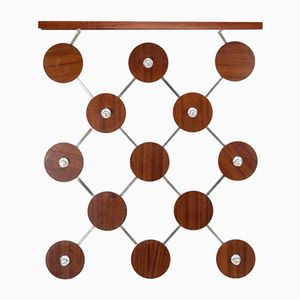 Mid-Century Hanging Coat Rack