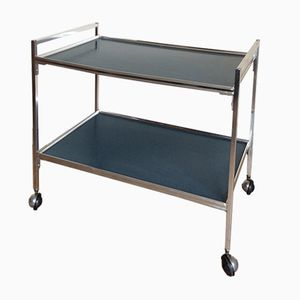 Chrome Serving Cart, 1960s