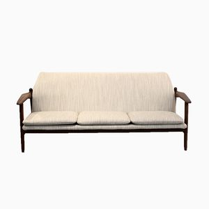 Teak 3-Seater Sofa from Propos Hulmefa, 1950s