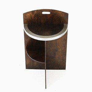 Art Deco Schichtholz Tisch, 1930er