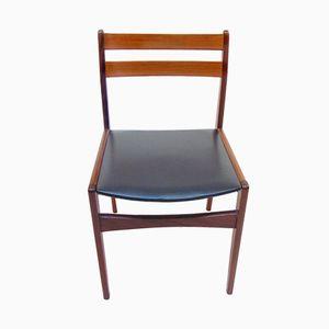 Teak Stühle von Frem Röjle, 1960er, 4er Set