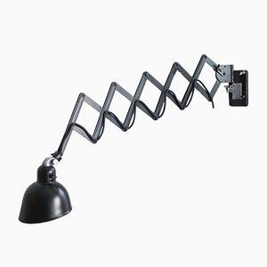 Lampe Ciseaux Noire de Siemens, 1930s