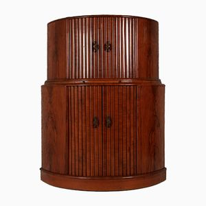 Vintage Art Deco Walnut Bar Unit from Rivington