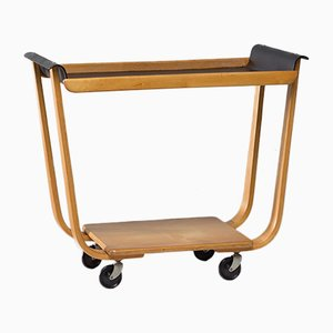 Vintage Plywood PB31 Tea Trolley by Cees Braakman for UMS Pastoe