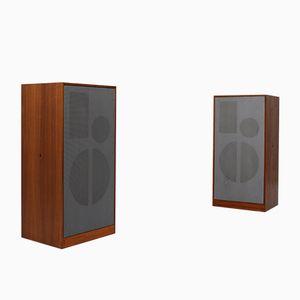 L80/2 Speakers by Dieter Rams for Braun, 1962, Set of 2