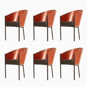Costes Stühle von Philippe Starck für Driade, 1980er, 6er Set