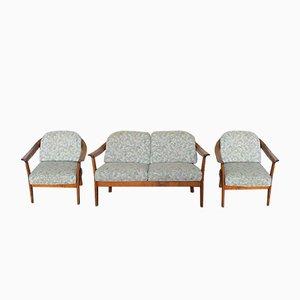 Vintage Sofa und 2 Sessel von Knoll