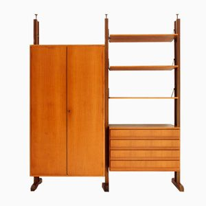 Italian Uprights Wall Unit, 1960s