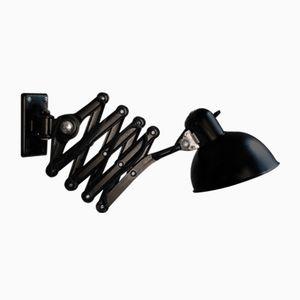 6718 Black Scissor Lamp by Christian Dell for Kaiser Idelll