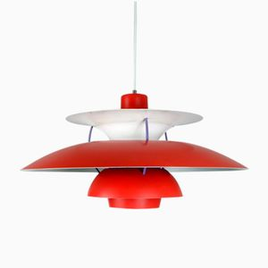 Multicolored Ph5 Pendant by Poul Henningsen for Louis Poulsen