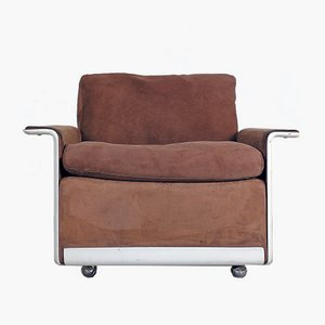Programm 620 Highback Lounge Chair by Dieter Rams for Vitsoe, 1973