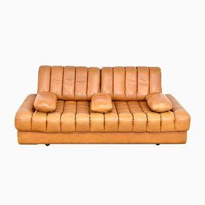 DS85 Cognac Leather Sofa from de Sede, 1970s