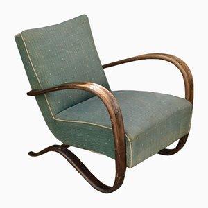 Vintage H269 Sessel von Jindrich Halabala für Thonet, 1930er