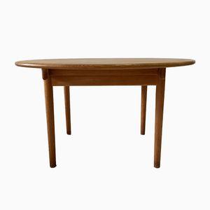 Oak PP70 Table by Hans J. Wegner for PP Møbler, 1980s