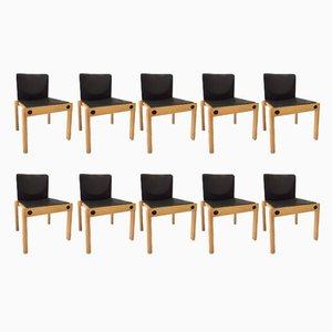 Stapelbare Modell 77 Stühle von Gerd Lange für Schlapp Möbel, 1970er, 10er Set