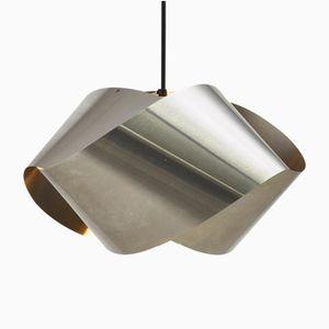 Stainless Steel Möbius Ribbon Pendant, 1970s