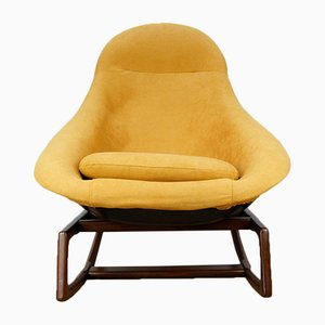 Rocking Chair par W. S. Chenery pour Lurashell, 1960s
