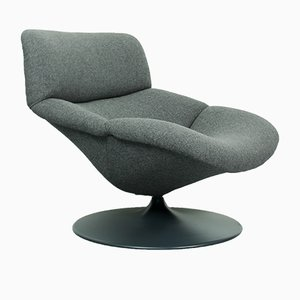 Vintage F518 Lounge Swivel Chair by Geoffrey Harcourt for Artifort, 1980s