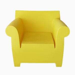 Gelber Sessel für Außenbereich von PhIlippe Starck für Kartell, 2001