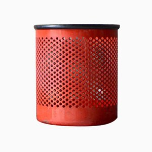 Cribbio Metal Waste Bin by Barbieri & Marianelli for Rexite, 1981