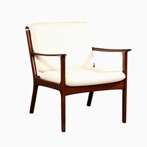 Mid-Century Model PJ112 Armchair by Ole Wanscher for Poul Jeppesens